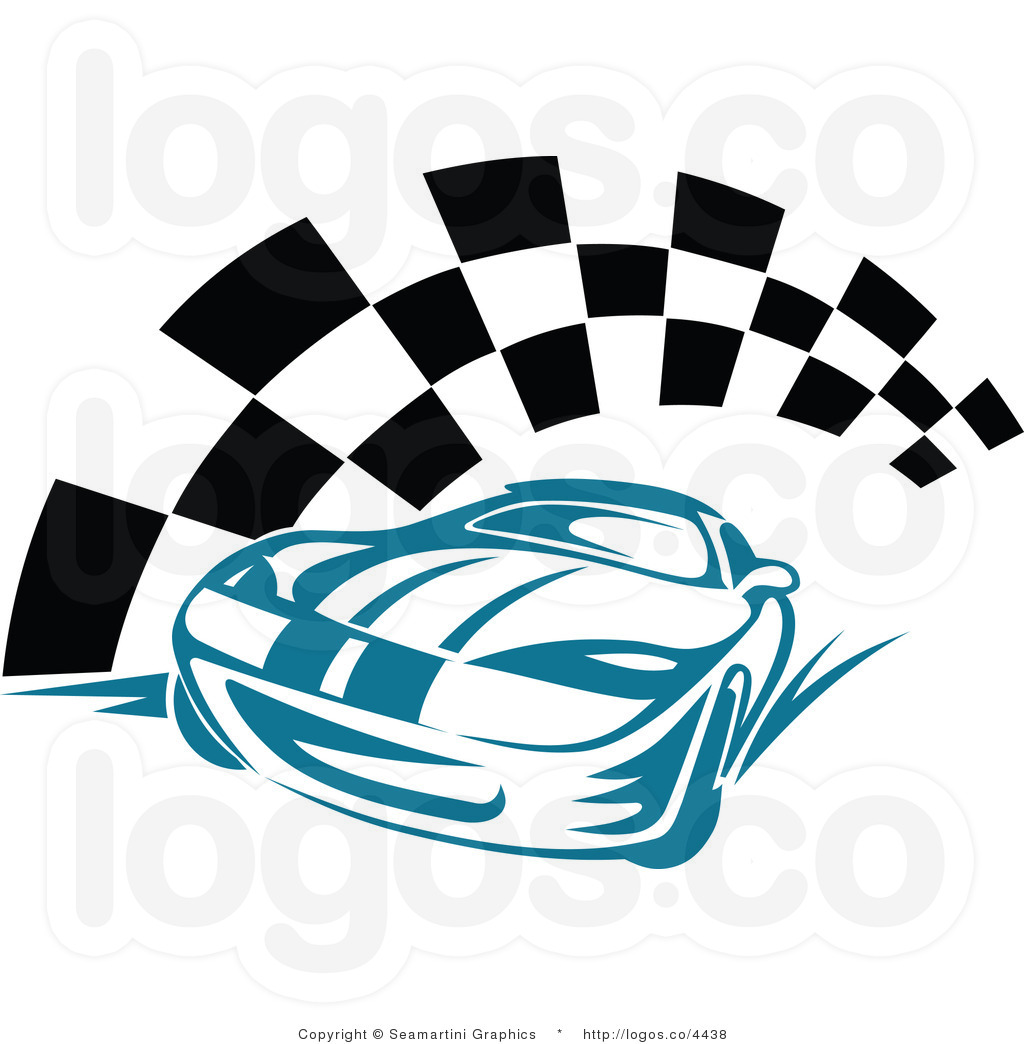 Stock car race car clipart clipart black and white stock Blue Car Clipart - Clipart Kid clipart black and white stock
