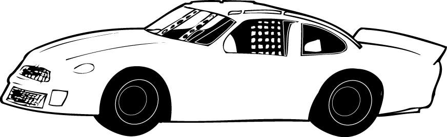 Stock car racing clipart banner transparent stock Stock car racing clipart - ClipartFest banner transparent stock