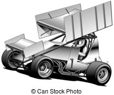 Stock car racing clipart graphic black and white Dirt track racing Illustrations and Clip Art. 1,655 Dirt track ... graphic black and white