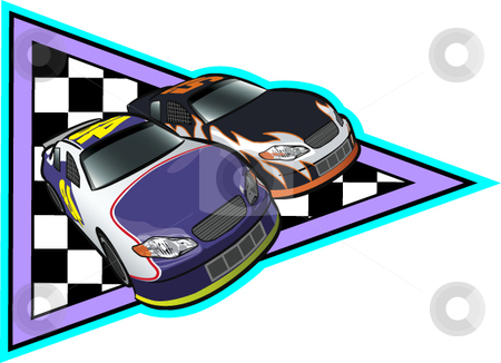 Stock car racing clipart banner royalty free stock Race Driver Vector Clip | auto racing shoe banner royalty free stock