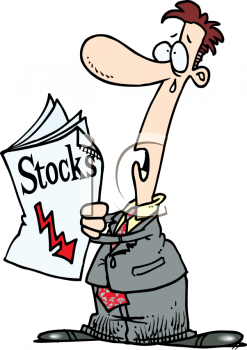Stock clipart picture library library Investor Worried and Crying Over Dropping Stocks and Stock Market ... picture library library