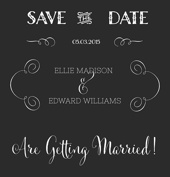 Stock clipart for commercial use jpg freeuse free vector art for commercial use, save the date calligraphy ... jpg freeuse