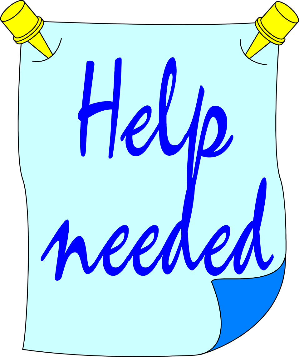 Stock clipart free clipart transparent Help Wanted | Free Stock Photo | Illustration of a help needed sign ... clipart transparent