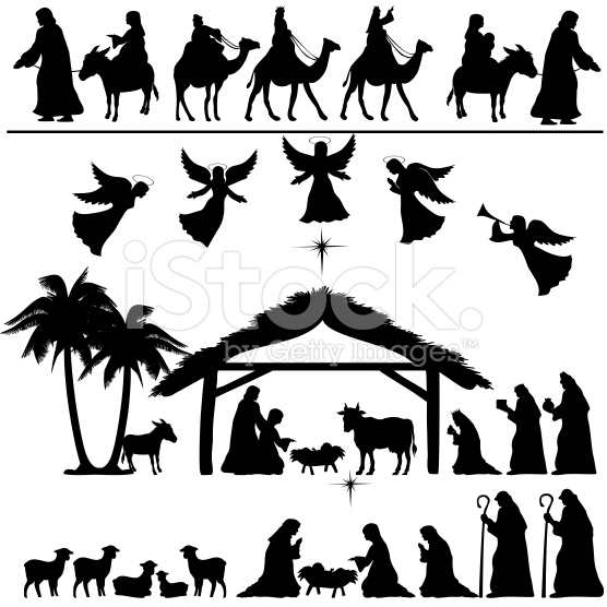Stock clipart free download clip art black and white download Nativity clip art free download - ClipartFest clip art black and white download