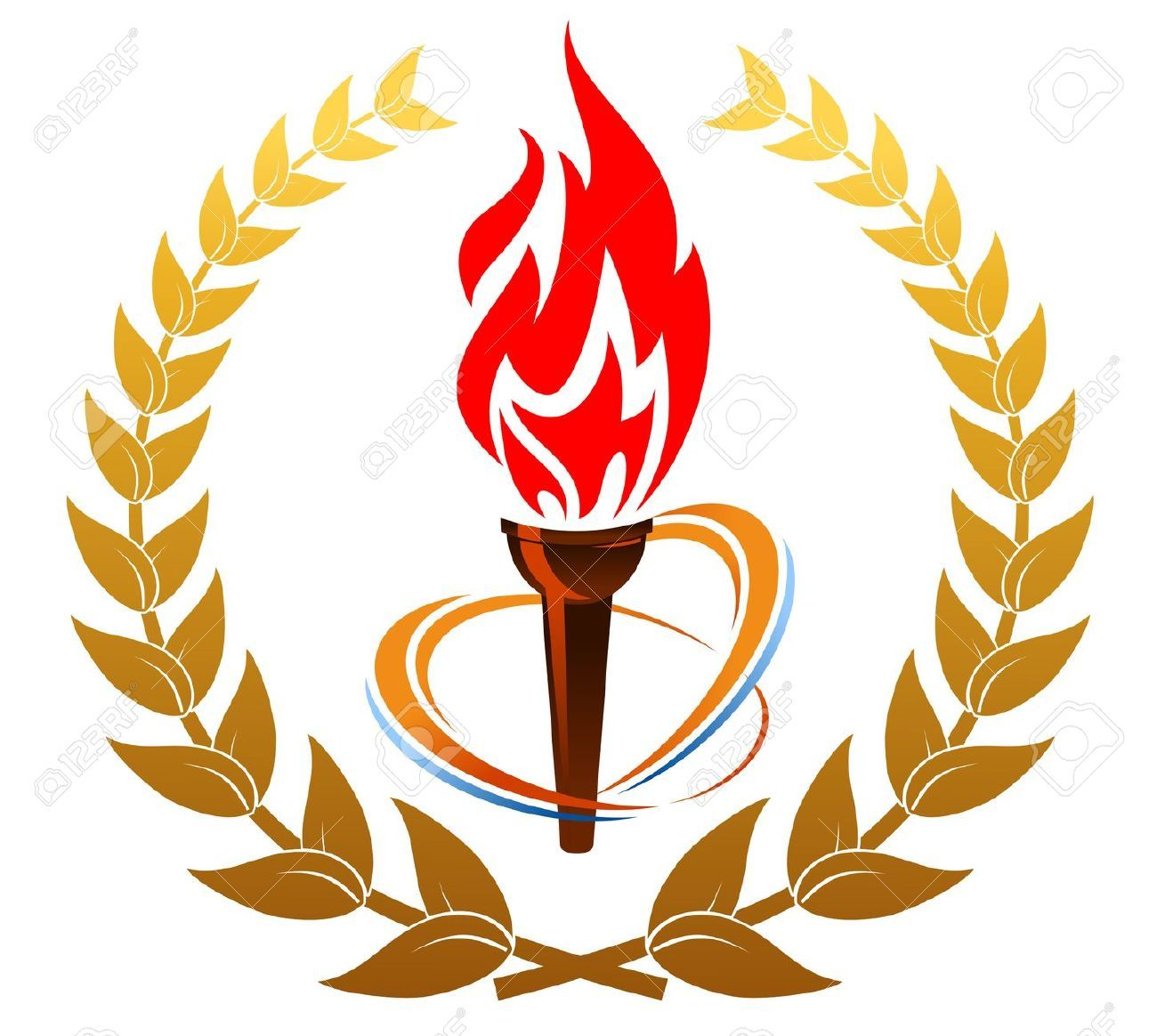 Stock clipart vector svg Fire Torch Cliparts, Stock Vector And Royalty Free Fire ... svg