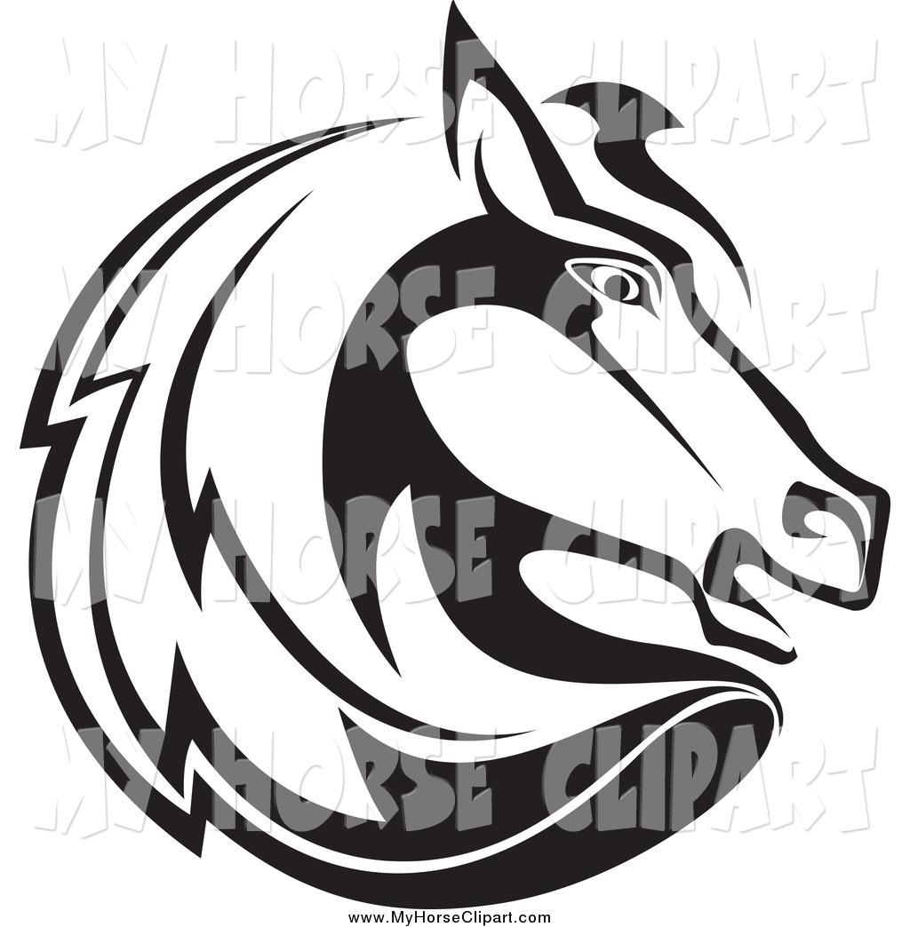 Stock horse head clipart jpg royalty free Stock horse head clipart - ClipartFest jpg royalty free