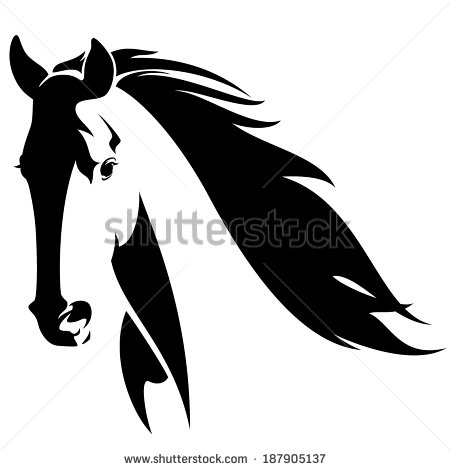 Stock horse head clipart royalty free library 1000+ images about Horse on Pinterest | Mustang horses, Graphics ... royalty free library