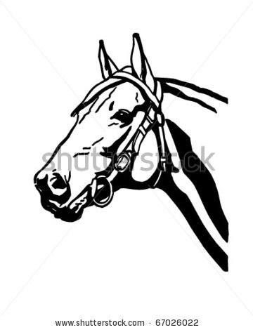 Stock horse head clipart image transparent library 17 Best images about puertas cabaleriza on Pinterest | Barrel ... image transparent library