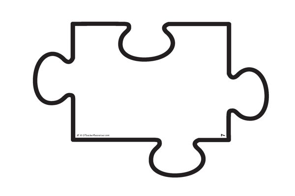 Stock images blank templates and signs hq clipart graphic library Blank jigsaw puzzle template - individual A4 size pieces ... graphic library
