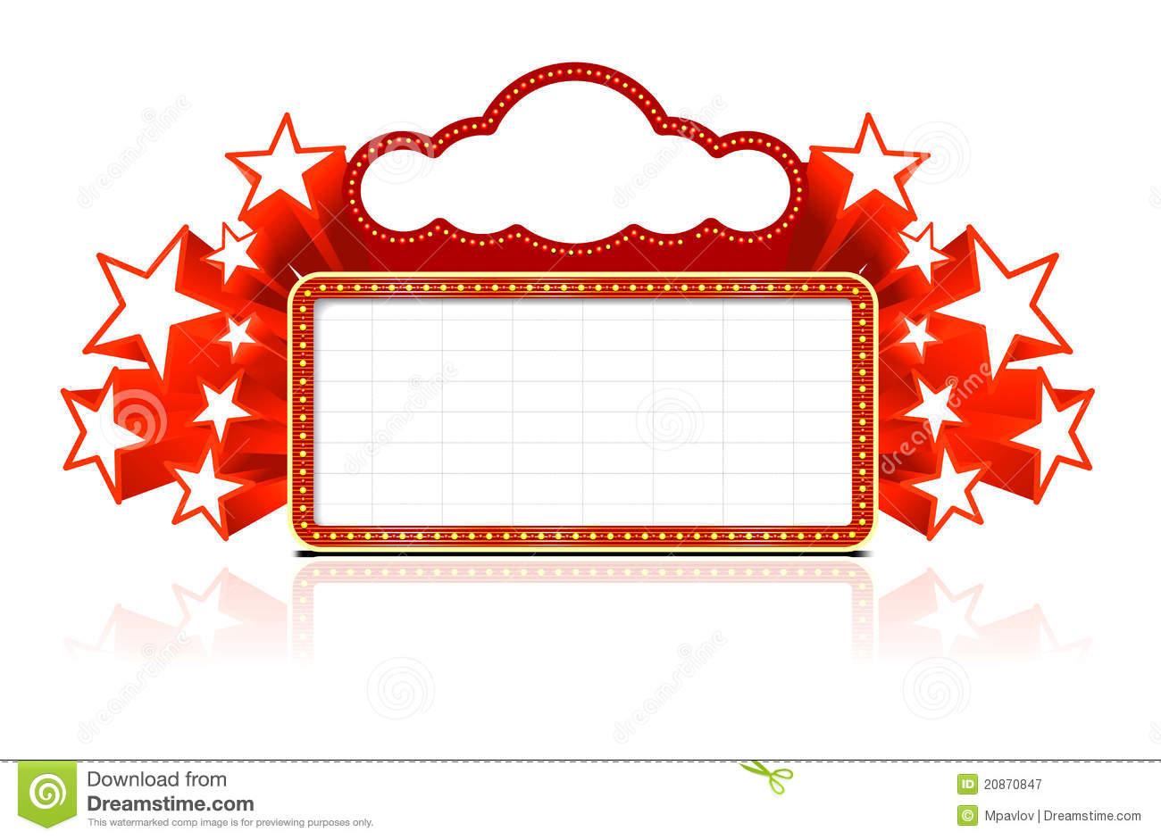 Free movie marquee clipart black and white. Look at clip art