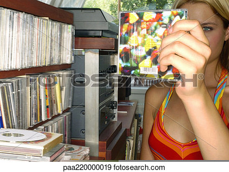 Stock images cd collection vector stock Stock images cd collection - ClipartFest vector stock