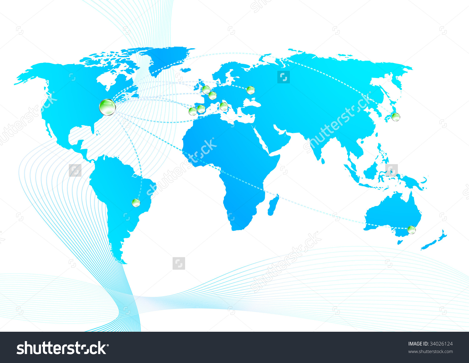 Stock in trade clipart banner transparent Global Trade Relations; Clip-Art Stock Vector Illustration ... banner transparent