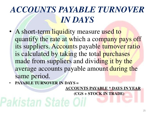 Stock in trade turnover transparent PSO AND SHELL RATIO ANALYSIS transparent