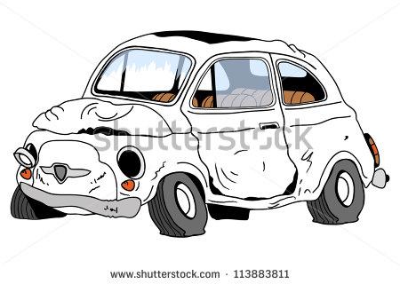 Stock photos car clipart svg freeuse library Dented Car Clipart - Clipart Kid svg freeuse library
