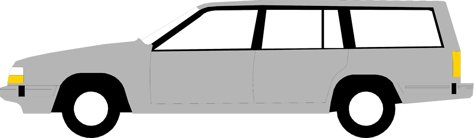 Stock photos car clipart svg black and white library Cars | Free Stock Photo | Illustration of a station wagon | # 9980 svg black and white library