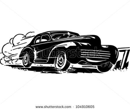 Stock photos car clipart vector transparent stock 50s Car Clipart - Clipart Kid vector transparent stock