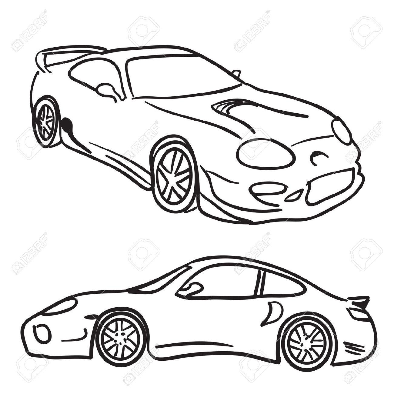Stock photos car clipart clip art freeuse download Stock car clipart outline - ClipartFest clip art freeuse download