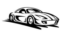Stock photos car clipart banner black and white stock Fast Car Clipart & Fast Car Clip Art Images - ClipartALL.com banner black and white stock