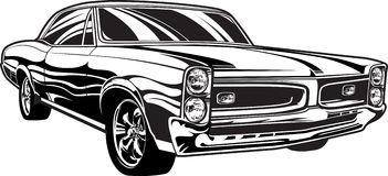 Stock photos car clipart vector transparent stock Free vintage muscle car clipart - ClipartFest vector transparent stock