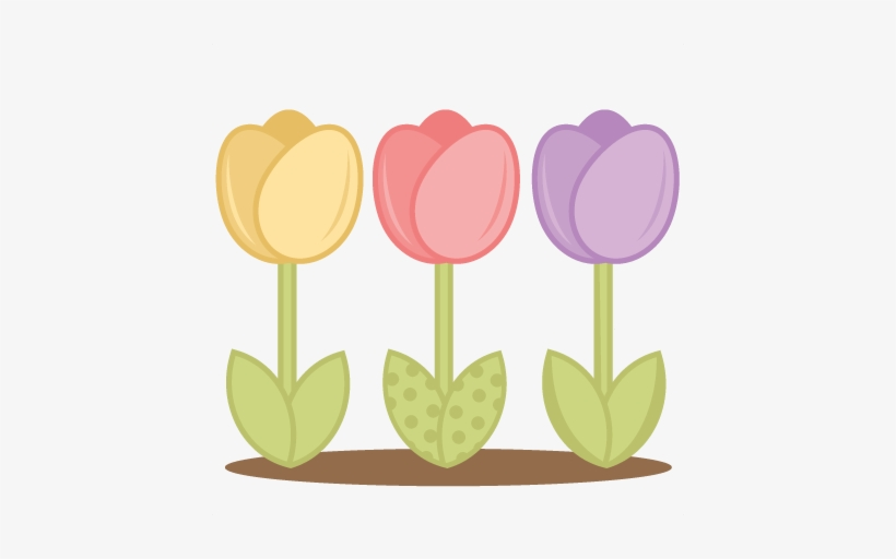 Stock photos clipart banner transparent download Royalty Free Stock Free Clipart Tulips - Cute Tulip Clipart ... banner transparent download