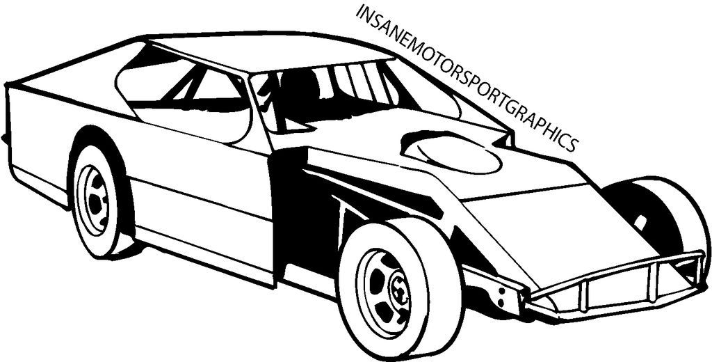 Stockcar clipart graphic royalty free stock Vehicles For > Dirt Track Stock Car Clip Art | Michael in ... graphic royalty free stock
