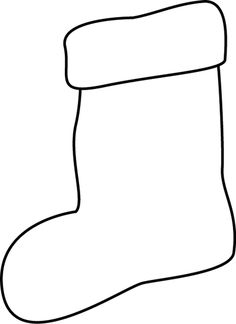 Stocking black and white clipart picture freeuse clip art stockings black white | Clipart Panda - Free ... picture freeuse