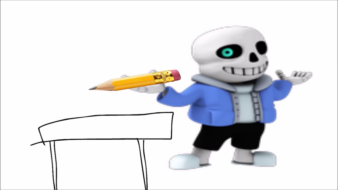 Stole your pencil clipart png free download SANS STOLE MY PENCIL (STORYTIME) (original video by strawberrix) png free download