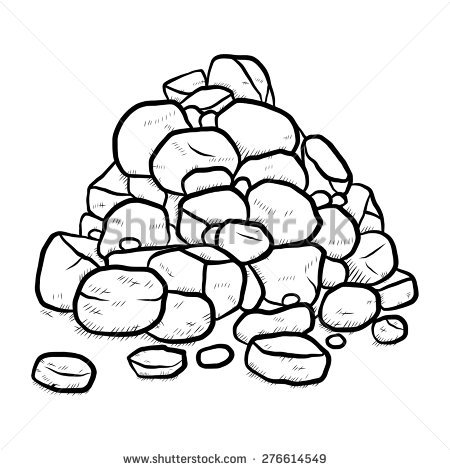 Stone clipart black white royalty free stock Stone clipart black and white 4 » Clipart Station royalty free stock