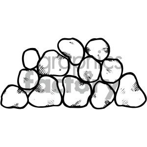 Stone clipart black white vector black and white download black white stone clipart . Royalty-free clipart # 405231 vector black and white download
