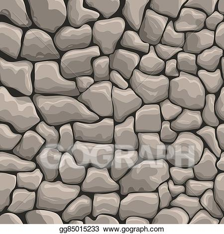 Stone wall clipart jpg transparent download Vector Clipart - Stones wall seamless texture. Vector ... jpg transparent download