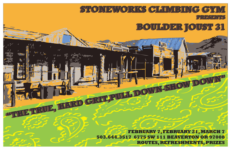 Stoneworks boulder joust clipart free library Stoneworks Poster Gallery — Stoneworks Climbing Gym clipart free library