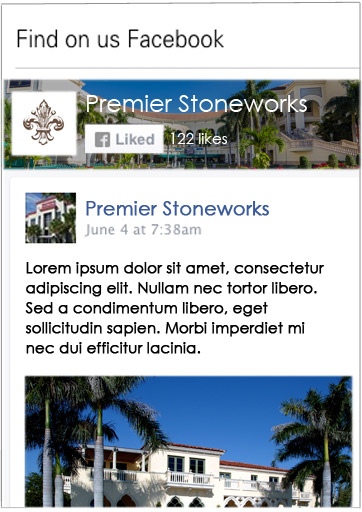 Stoneworks facebook svg freeuse library Premier Stoneworks LLC Earns National Excellence in Construction ... svg freeuse library