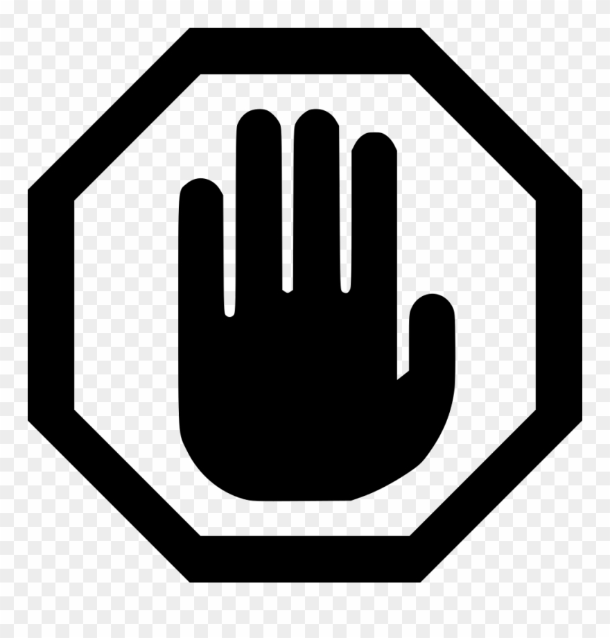 Stop clipart hand clip black and white download Stop Sign Png Free Clipart Free Stock - Stop Hand Icon Png ... clip black and white download