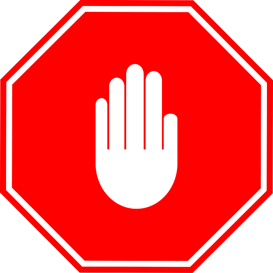 Stop clipart hand picture transparent Hand stop sign clipart 2 - WikiClipArt picture transparent