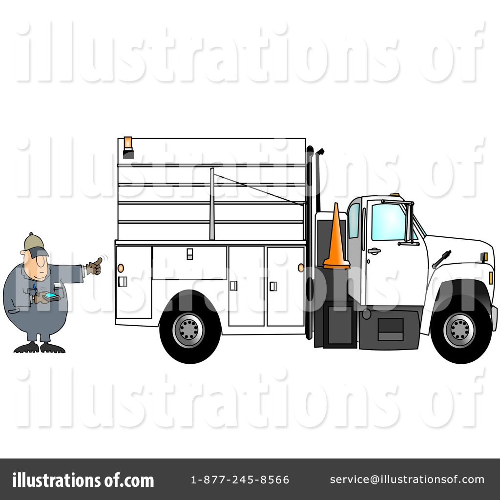 Utility truck clipart clipart library download Utility Truck Clipart #85055 - Illustration by djart clipart library download