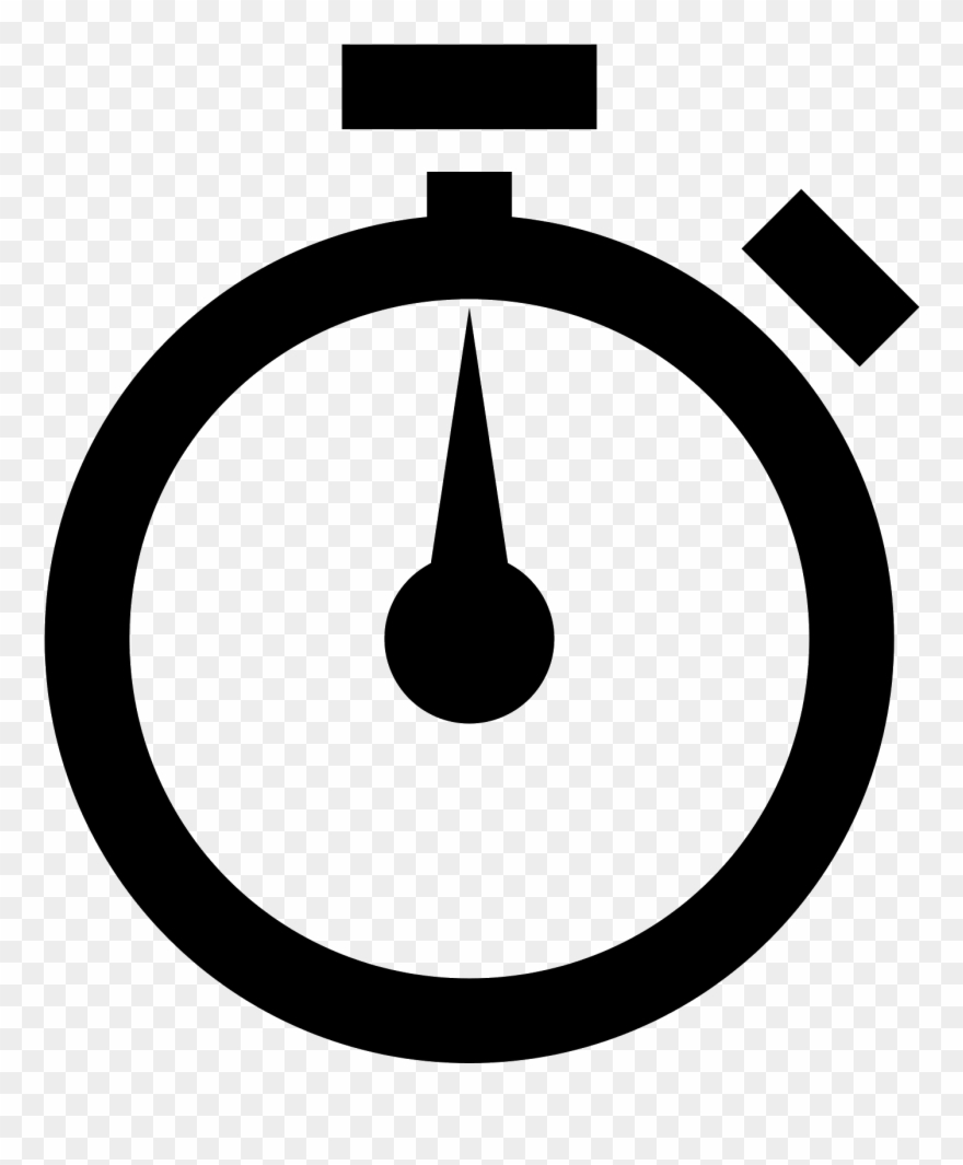 Stopwatch icon clipart svg freeuse Transparent Stopwatch Hand - Stopwatch Icon Clipart (#798707 ... svg freeuse