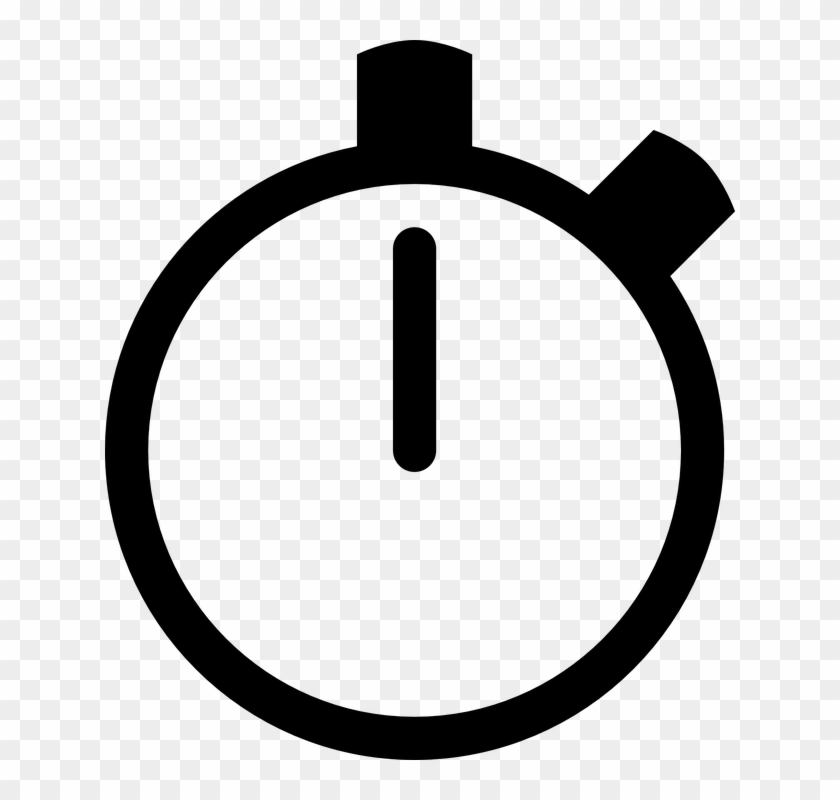 Stopwatch icon clipart vector library library Icon, Stopwatch, Clock, Time, Black - Stopwatch Clipart, HD ... vector library library