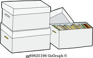 Storage box clipart svg free Storage Boxes Clip Art - Royalty Free - GoGraph svg free