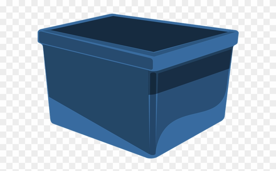 Storage box clipart png transparent Box Blue Storage - Clipart Tote - Png Download (#641461 ... png transparent