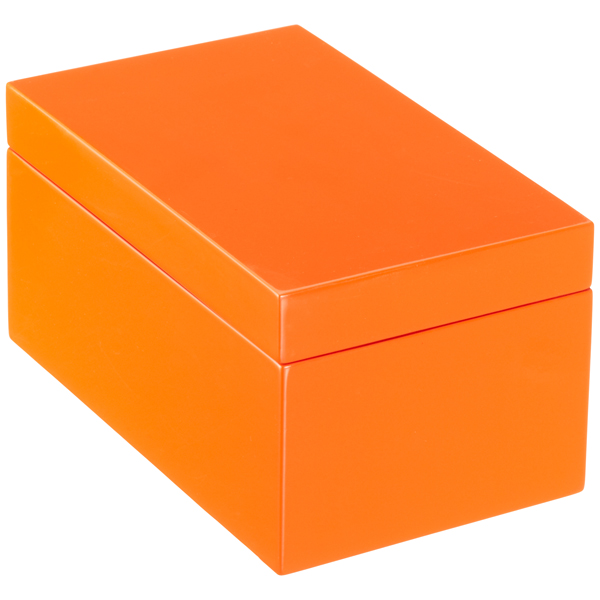 Storage box clipart stock Orange Lacquered Storage Boxes stock