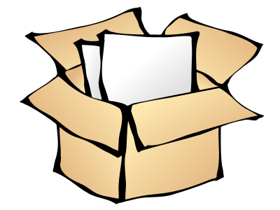 Storage box clipart vector black and white library Free Storage Box Clipart - Clipart Picture 3 of 4 vector black and white library