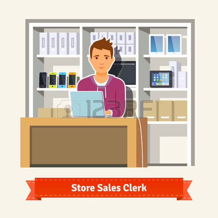 Store clerk clipart picture library 705 Store Clerk Stock Vector Illustration And Royalty Free Store ... picture library