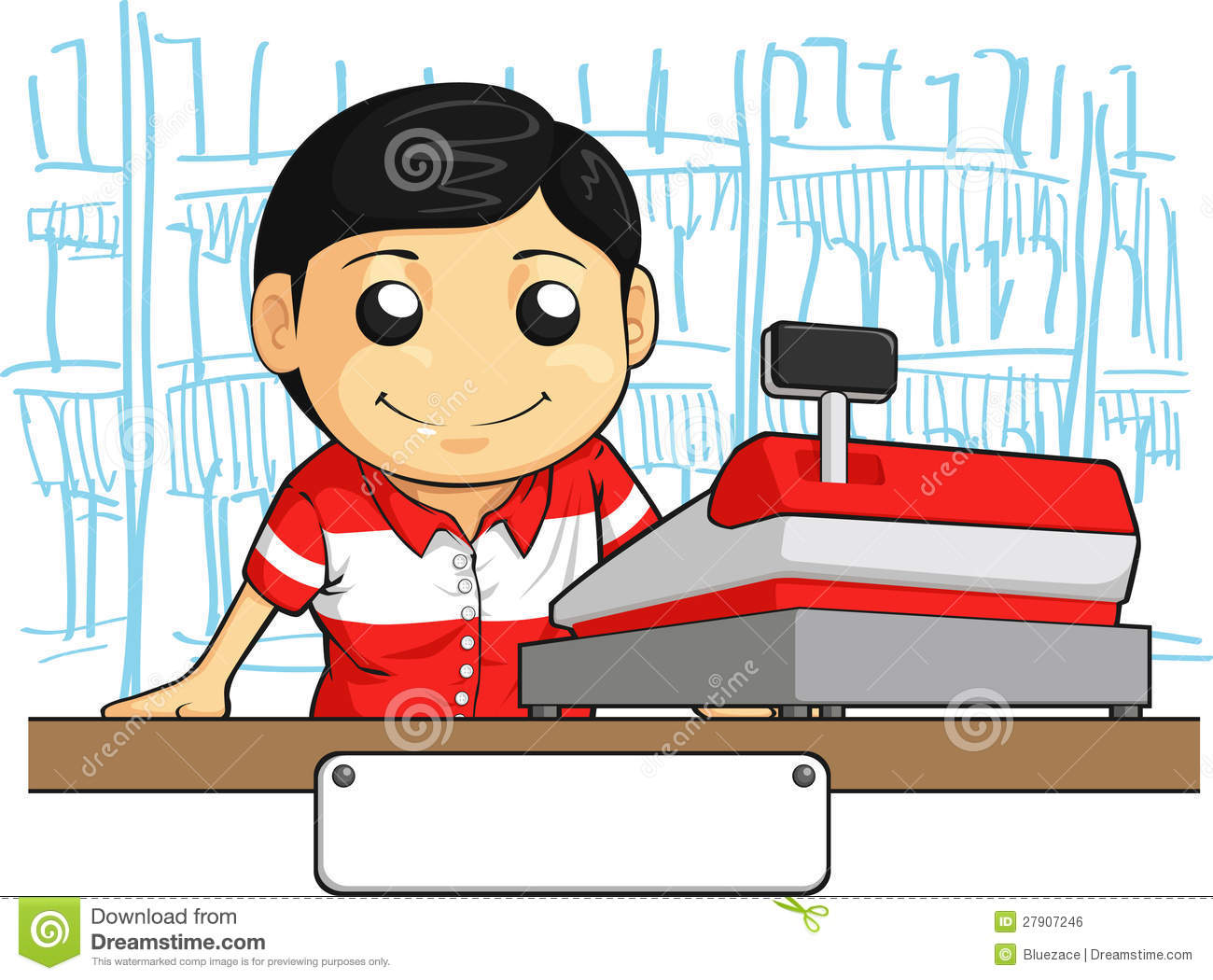 Store clerk clipart png free stock Retail Clerk Clipart - Clipart Kid png free stock