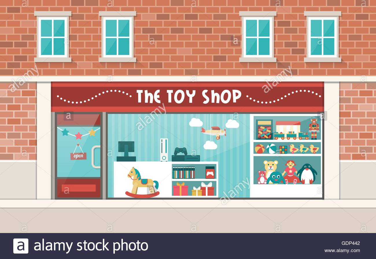 Store window clipart dreamtime jpg freeuse stock Collection of 14 free Storefront clipart toy shop sales ... jpg freeuse stock