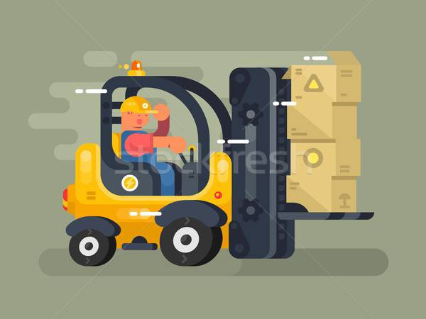 Storekeeper clipart clip royalty free Storekeeper Stock Vectors, Illustrations and Cliparts ... clip royalty free