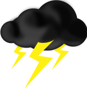 Thunder cloud pictures clipart jpg black and white download 33+ Storm Cloud Clipart | ClipartLook jpg black and white download