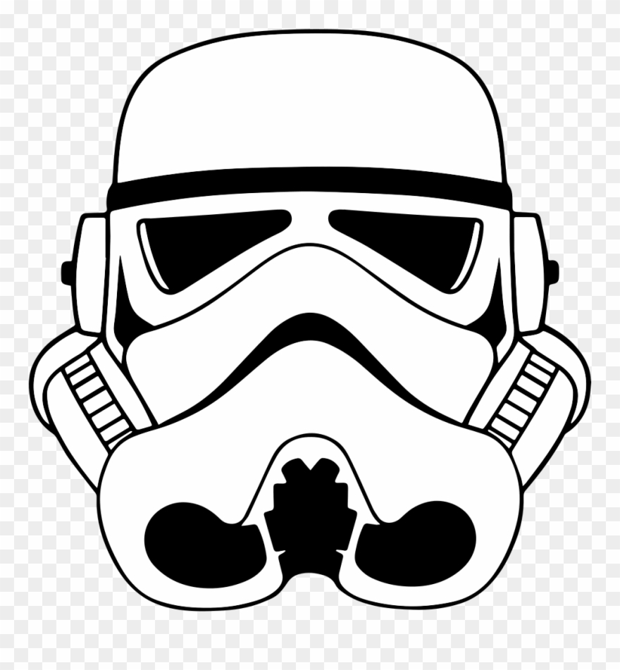 Stormtroopers clipart graphic royalty free stock File Stormtrooperhelmeticon Star Wars - Star Wars ... graphic royalty free stock
