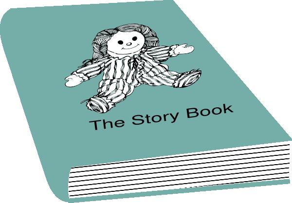 Storybook characters clip art jpg black and white library Story Book Clipart - Clipart Kid jpg black and white library