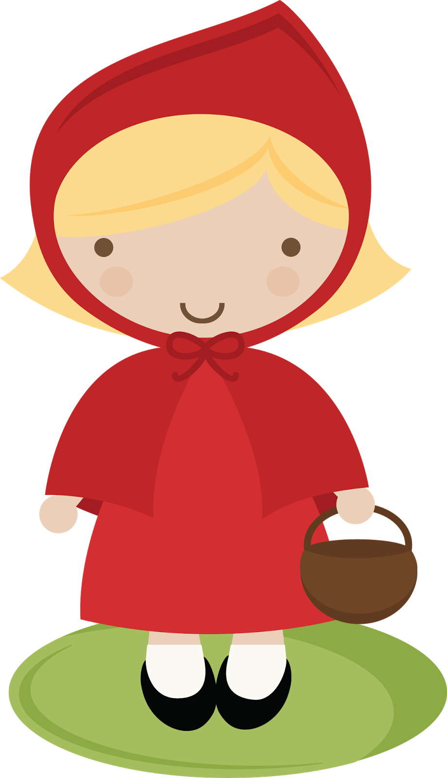 Storybook characters clip art banner Little Red Riding Hood Template - ClipArt Best | Blondie's Fairy ... banner