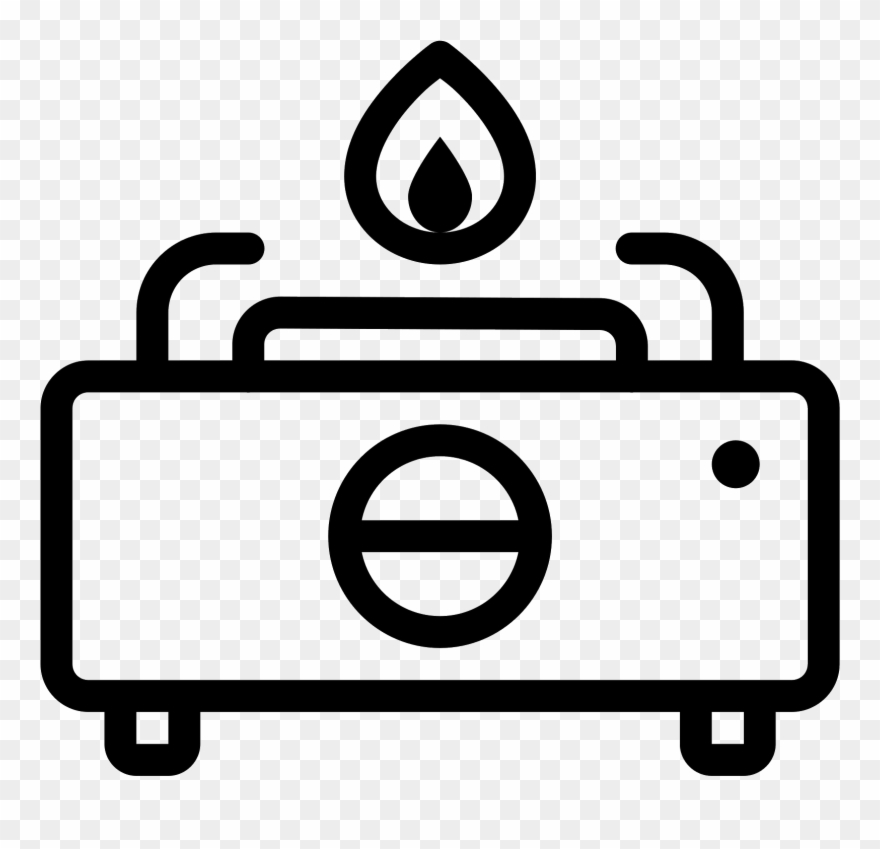 Stove burner chemistry clipart clipart royalty free stock Gas Stove Icon - Couch Clipart (#133093) - PinClipart clipart royalty free stock